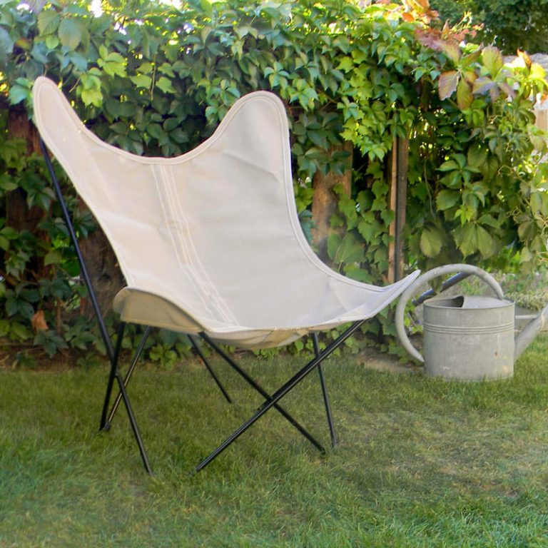 Fauteuil AA Butterfly batyline taupe